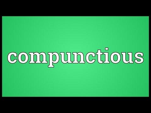 Header of compunctious