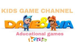 Dave & Ava Learn and play-Educational games-Android Gameplay