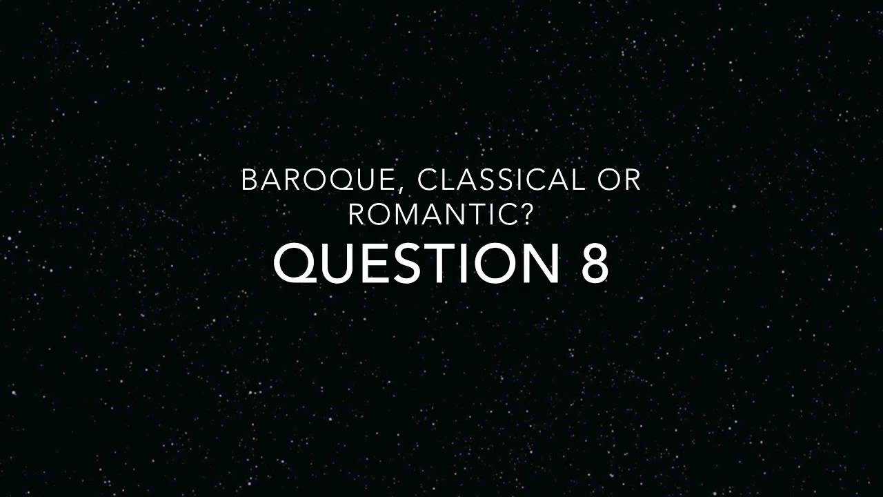 difference between baroque and classical