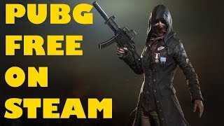 Playerunknowns Battlegrounds Free on Steam