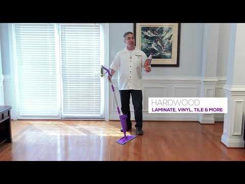 How To Clean Floors - Click n Clean All Floors - No Bucket Floor Cleaner
