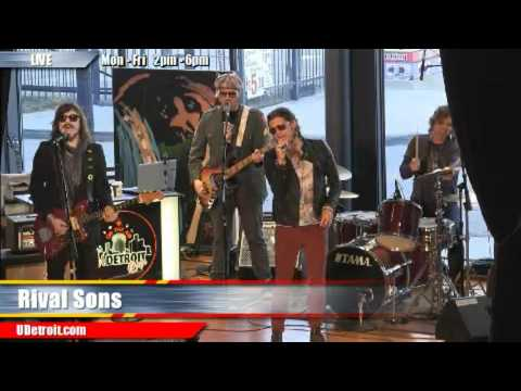 Burn Down Los Angeles - Rival Sons - live @ UDetroit Media Cafe