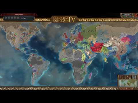 EU4 German World Conquest Timelapse
