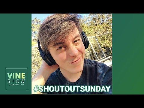 THOMAS SANDERS SING YOUR NAME VINES 2018 | #ShoutoutSunday Thomas Compilation