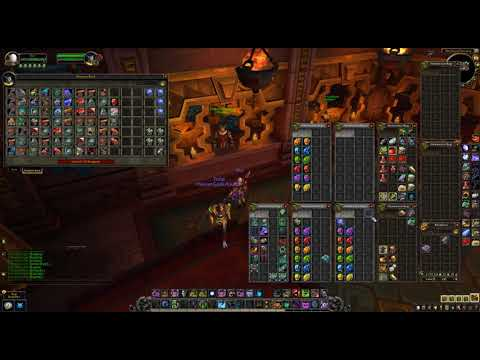 WoW BFA Jewelcrafting - Prospecting 200x of each ore new ore (results at the end)
