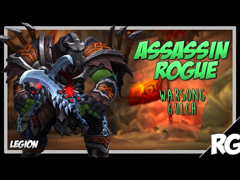 ROGUE BLEEDS ARE OP! | Assassination Rogue BG PvP (WSG) | Legion [Patch 7.0.3]