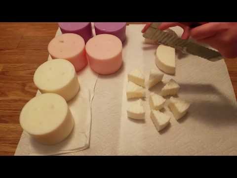 How I Chop Up Bath and Body Works Candles For Melting | Part