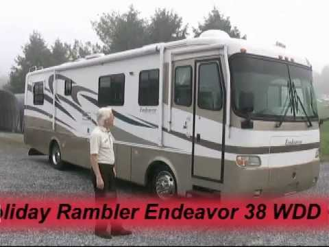 *SOLD* 2001 Holiday Rambler Endeavor 36 PWD Class A diesel motorhome -  C30228