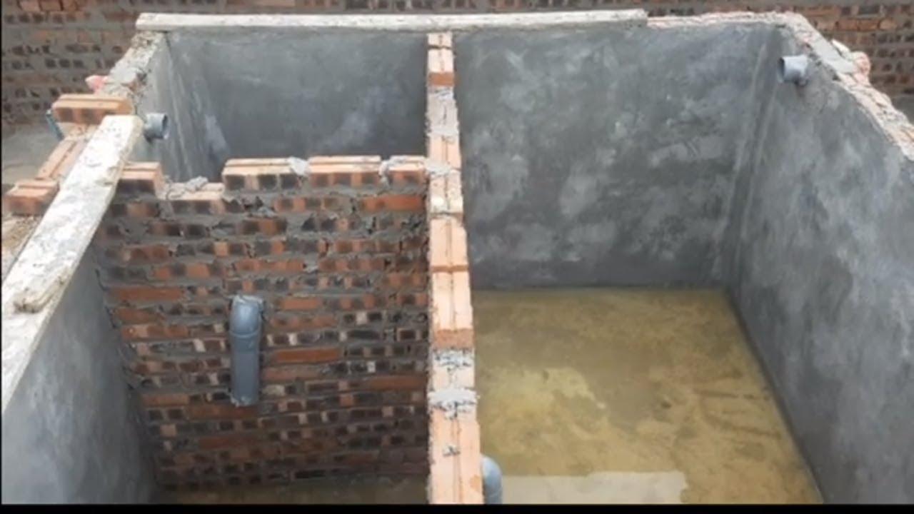 CHUẨN quy trình  xây lắp đặt ống bể phốt (bể tự hoại ) không bốc mùi  ĐÚNG KỸ SƯ XÂY DỰNG