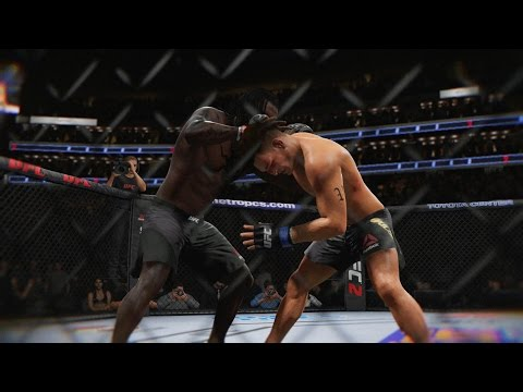 Moses Shot Clock Cheese! EA Sports UFC 2 Ultimate Team Gameplay
