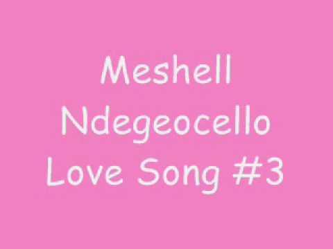 Me'Shell NdegéOcello - Love Song #3