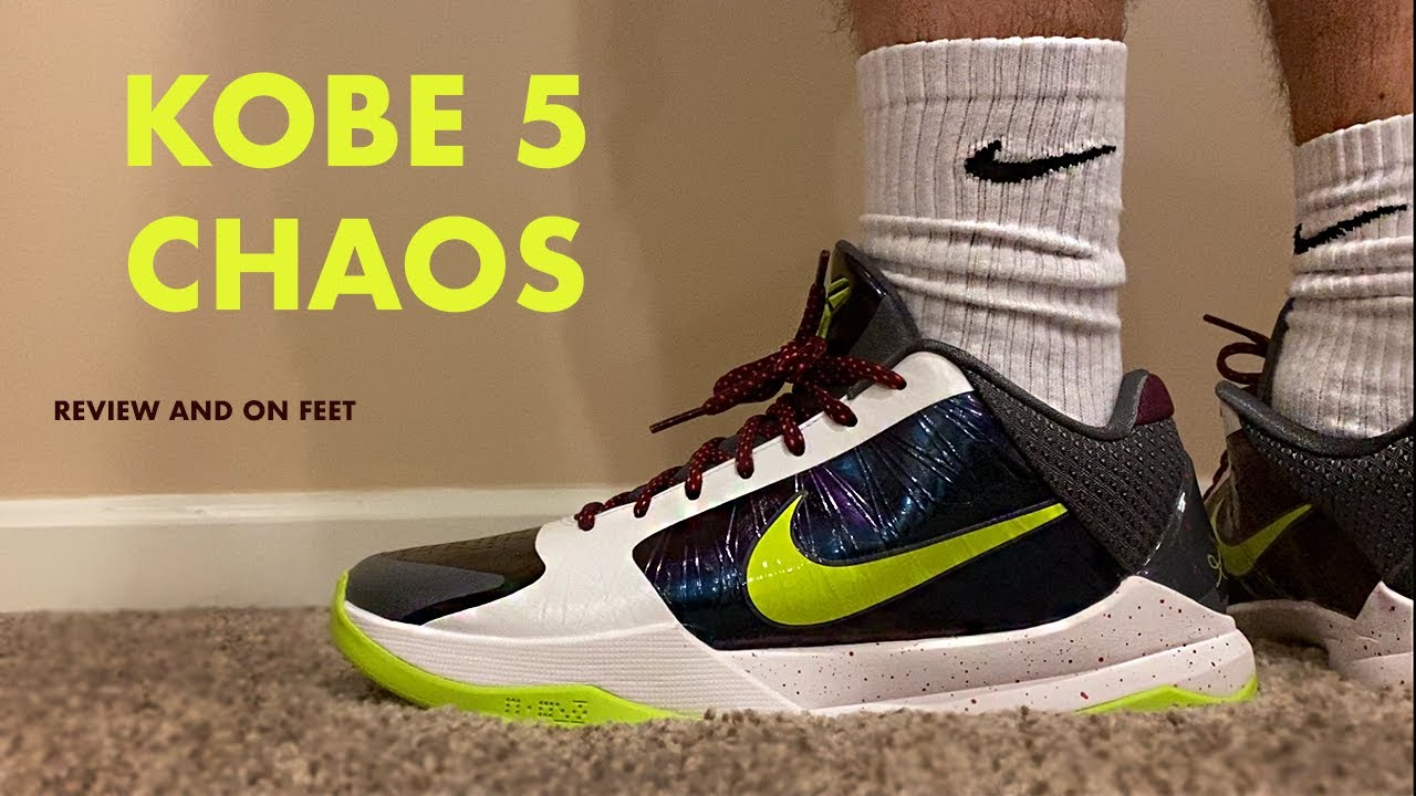 Kobe 5 Protro Chaos Review and On Feet
