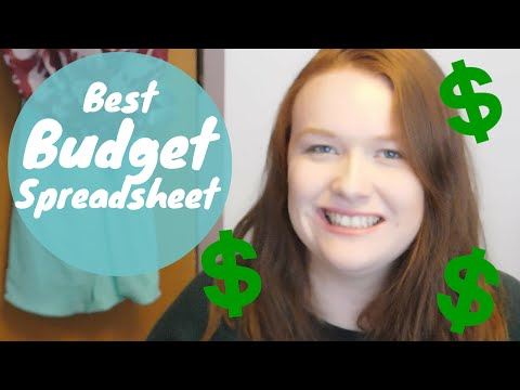 #1 Best Budget Spreadsheet | Simple, Clean, Colorful, Easy To Use