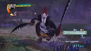 One Piece Pirate Warriors 3 Gecko Moria Level 100 Gameplay