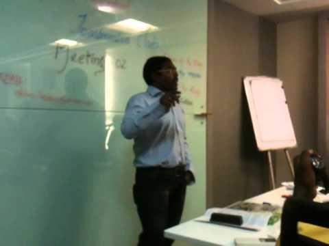 Murthy Kavali icebreaker speech @ Toastmasters meeting