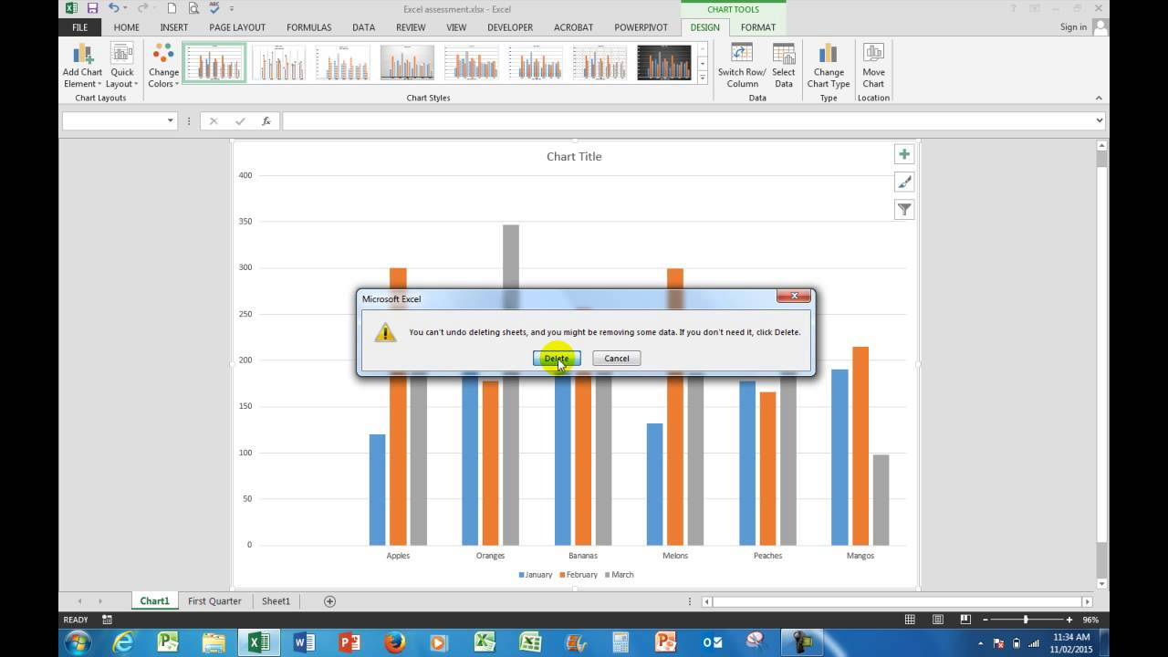 How to prepare for an Excel 2016 assessment test for job applications  YouTube