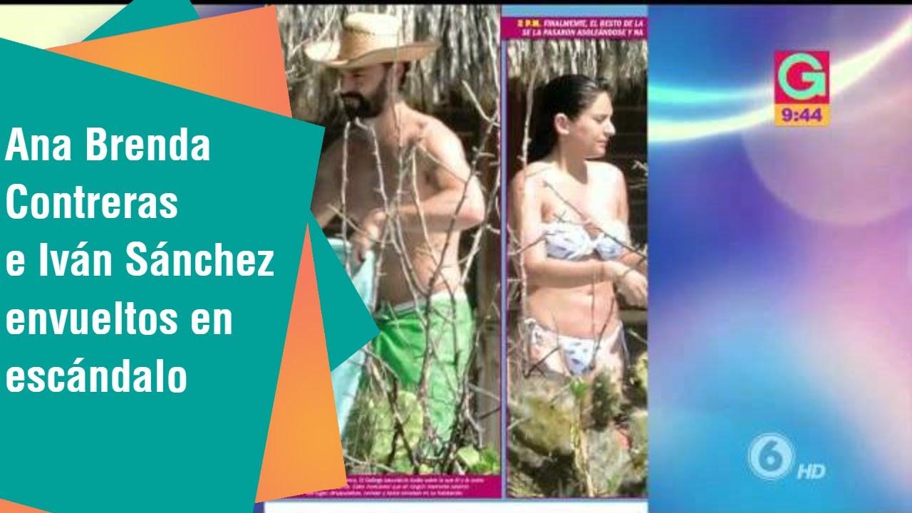 Ana Brenda Contreras Sex Video atriz do sbt se envolveu em escândalo sexual com ator casado