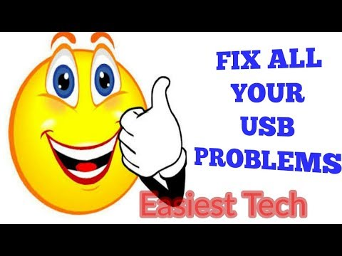 FIX ALL YOUR USB PROBLEMS-Easiest Tech-Tech MH Masum