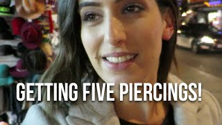 Getting 5 Piercings! | Lily Pebbles Weekly Vlog