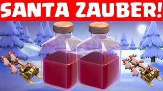 NEUER ZAUBER! SANTA'S SURPRISE! || CLASH OF CLANS || Let's Play CoC