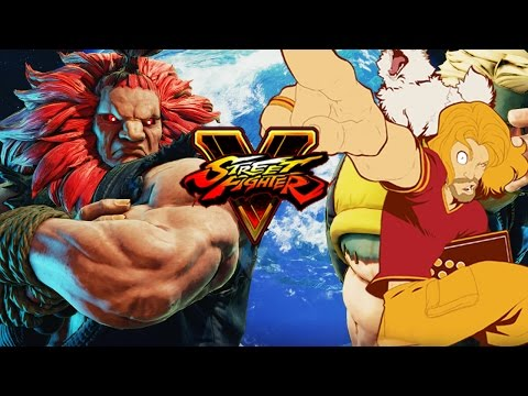 MAX PLAYS AKUMA (Direct Feed): Breakdown & Gameplay (Street Fighter 5 Season 2)
