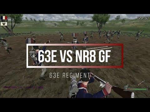 63e Regiment | Napoleonic Wars | 63e Vs Nr8 Groupfight | ZenHD
