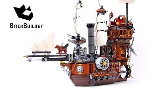 Lego Movie 70810 Metalbeard's Sea Cow - Lego Speed Build