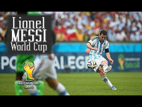 Lionel Messi Brazil 2014 Best Moments and Goals