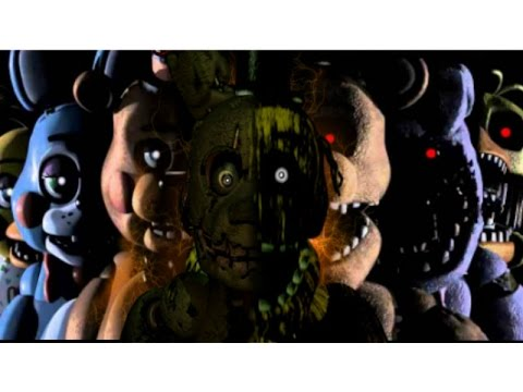 """""""Die In A Fire"""" Five Nights At Freddy's 3 Song {2 HOURS EDITION}"""