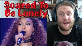 Novia - Scared To Be Lonely (Indonesian Idol) Reaction!