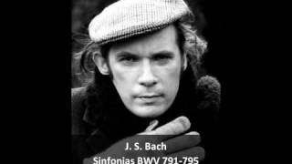 Download J. S. Bach - Sinfonias BWV 791/795 (2/3) - Glenn Gould, Piano MP3 song and Music Video
