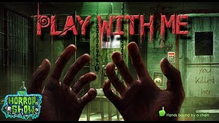 "Cecil & Brittini Try to Survive ""Play With Me"" - Horror Game Let's Play #1 - The Horror Show"