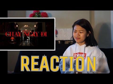 CHẠY NGAY ĐI   SƠN TÙNG M-TP  MV REACTION