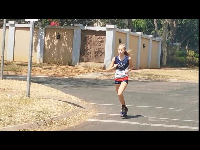 Chantelle van Niekerk 1500m #Dome_2020