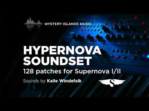 Hypernova Soundset for Novation Supernova I/II
