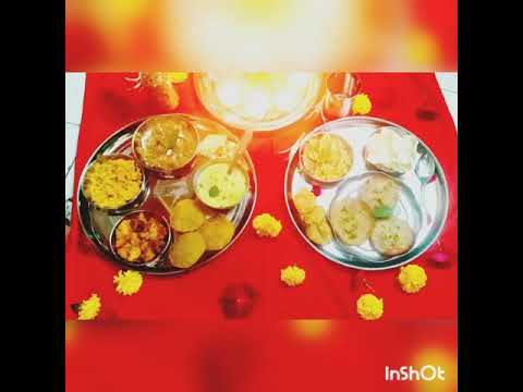Foram Bhojak - Puja Special Bhog Thali