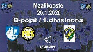Maalikooste ÅIF/PSS - FBC Turku (B-pojat 1.divisioona 20.1.2020)
