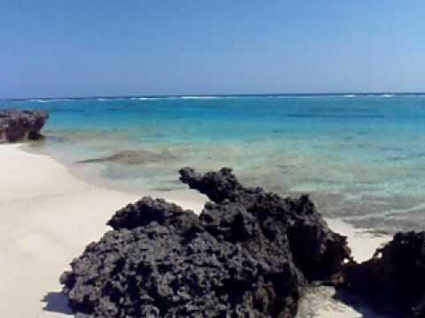 メルシー体操のビーチ。寺崎海岸