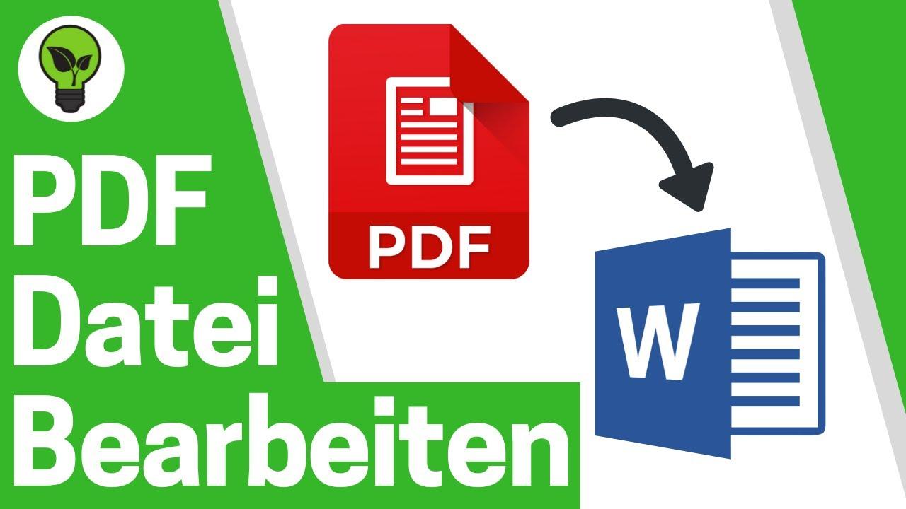 pdf dateien bearbeiten kostenlos