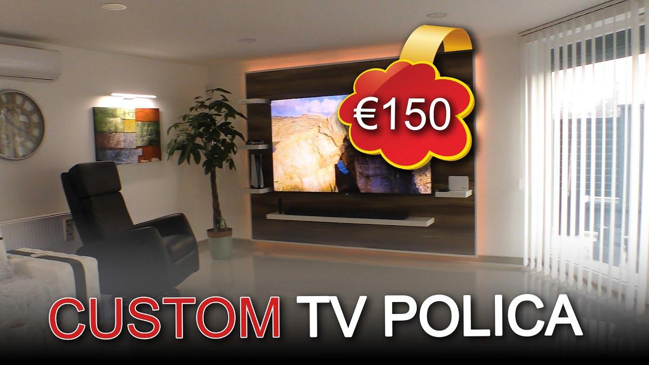 TV POLICA SAMO -18.000 RSD   CUSTOM TV WALL FOR € -150