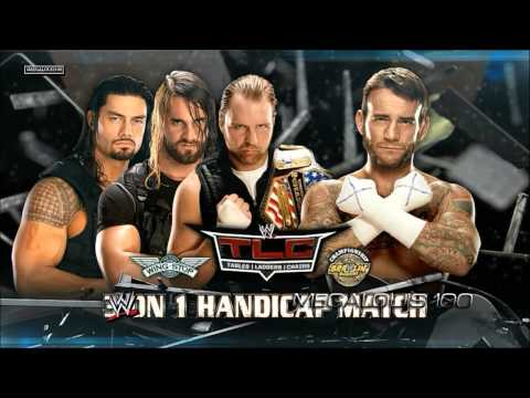 WWE TLC (Tables, Ladders and Chairs) 2013 Official and Complete Match Card - HD