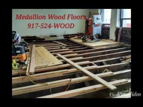 medallion Wood Floors White Oak NYC 10025 Replace & Level Sub-floor
