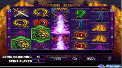 3 Kings Video Slot Machine - Online Pokies By IGT - This is one of the FREE FEATURES!