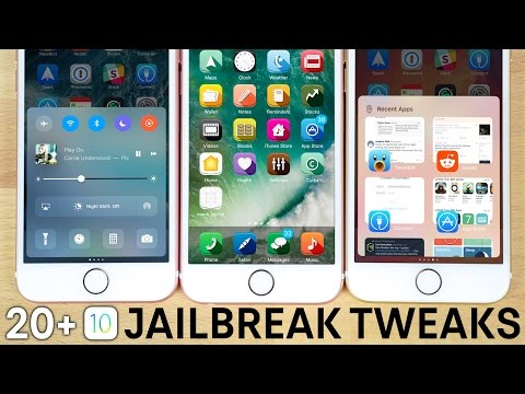 Top 20 NEW iOS 10 Jailbreak Tweaks!