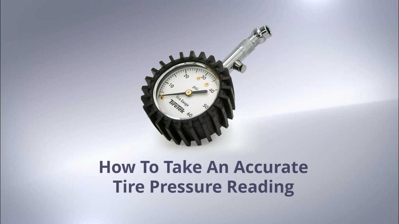 how to take an accurate tire pressure reading using the tiretek premium tire gauge youtube. Black Bedroom Furniture Sets. Home Design Ideas
