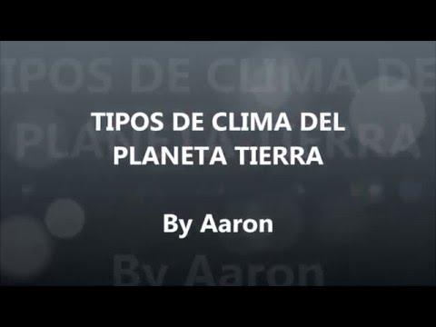 Los climas del planeta Tierra