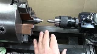 Metal Lathe Horizontal drilling fixture