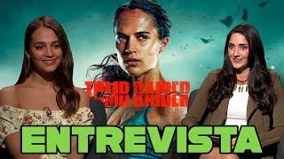 Entrevista a Alicia Vikander // Tomb Raider
