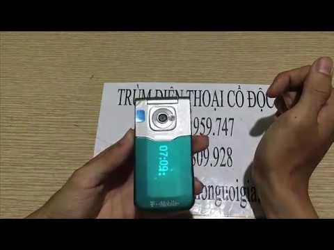 Điện thoại Nokia 7510 supernova nấp gập đèn LED độc đáo