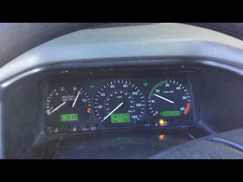 RV Instrument Panel Fix